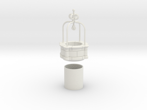 HOF070 - Big well of the castle. in White Natural Versatile Plastic