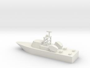 1/285 Scale Dvora Fast Patrol Boat in White Natural Versatile Plastic