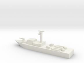 1/285 Scale Super Dvora III Fast Patrol Boat in White Natural Versatile Plastic