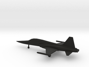 Northrop F-5F Tiger II in Black Natural Versatile Plastic: 1:200