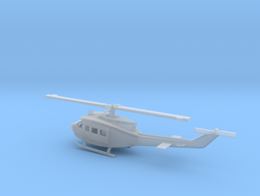 1/160 Scale UH-1D Model in Smooth Fine Detail Plastic