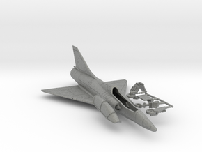 020A Mirage IIID - 1/144  in Gray Professional Plastic