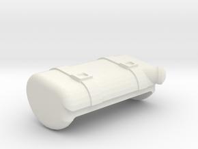 ROADSTER GAZ TANK in White Natural Versatile Plastic