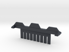 9 Tooth Electrophoresis Comb in Black PA12