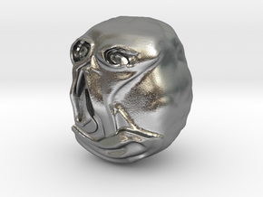 """""""Hello"""" Carving Sculpture (Dark Souls) in Natural Silver: Small"""