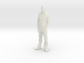 Printle C Homme 004 - 1/22.5 - wob in White Natural Versatile Plastic