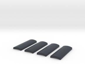Praco-Bolsey grips in Black Professional Plastic