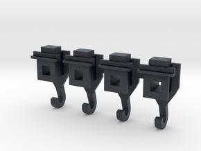Koppelingsadapter_01 in Black Professional Plastic