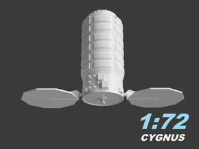 Cygnus 1:72 in White Natural Versatile Plastic