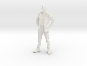 Printle C Homme 008 - 1/22.5 - wob in White Natural Versatile Plastic