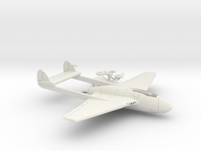 015E DH Vampire 1/100  in White Natural Versatile Plastic