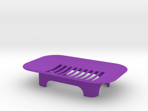 Soap Holder in Purple Processed Versatile Plastic