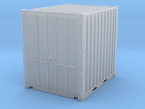 Container 10FT (1pcs) in Smooth Fine Detail Plastic: 1:50