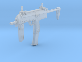 1/12th MP7 in Smooth Fine Detail Plastic