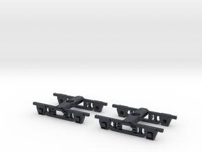 SAR 500 600 bogie in Black Professional Plastic