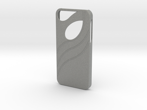 iphone 5 Case in Gray Professional Plastic