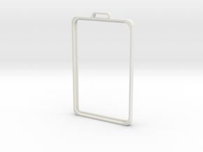 SimpleBadge in White Premium Versatile Plastic