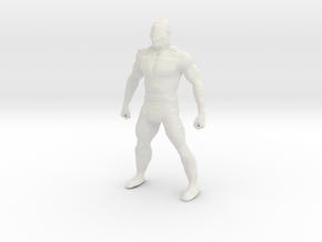 Printle V Homme 1744 - 1/28 - wob in White Natural Versatile Plastic