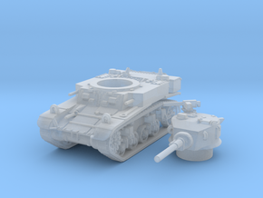 M3 a1 stuart scale 1/144 in Smooth Fine Detail Plastic