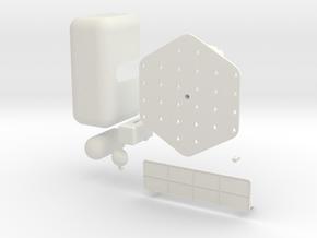 Modular organizer in White Natural Versatile Plastic