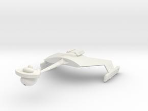 2500 Klingon D-7C class TOS in White Natural Versatile Plastic
