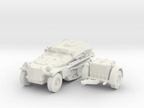 sdkfz 253 scale 1/87 in White Natural Versatile Plastic