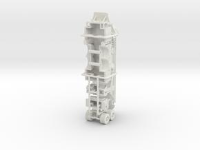 1/87 95' Tower Ladder body w/ boom in White Natural Versatile Plastic