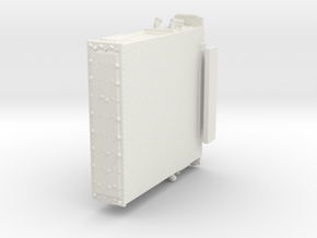 1/64 E-One EMAX pump section in White Natural Versatile Plastic