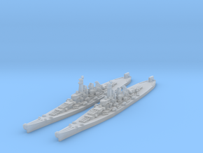 Montana class battleship (Axis & Allies) in Smooth Fine Detail Plastic