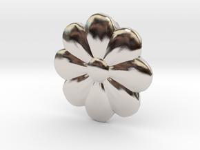 Little Flower Pendant in Platinum