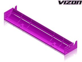 Vizon High Downforce 190mm TC Wing - UPDATED in White Natural Versatile Plastic