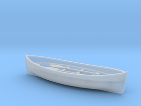 O Scale Lifeboat in Smooth Fine Detail Plastic