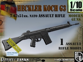 1/10 heckler Koch G3 in Smooth Fine Detail Plastic