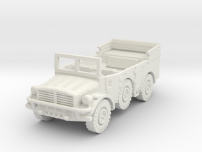 horch 108 (window up) scale 1/100 in White Natural Versatile Plastic