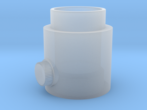 Button Knob in Smooth Fine Detail Plastic