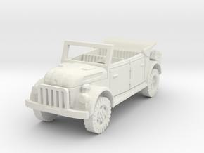 steyr 1500 kommandeurwagen 1/100 in White Natural Versatile Plastic