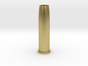 Airsoft WinGun Revolver Compatible 6mm 1-BB Shell in Natural Brass