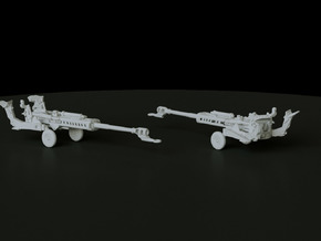 M777 Towed scale: 1:144  in Smooth Fine Detail Plastic