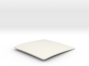 1/16  '30 Coupe Roof Insert in White Natural Versatile Plastic
