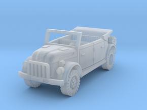 steyr 1500 kommandeurwagen 1/144 in Smooth Fine Detail Plastic