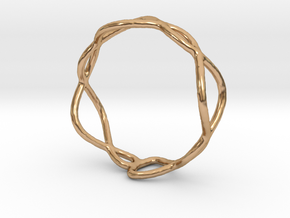 Ring 01 in Polished Bronze