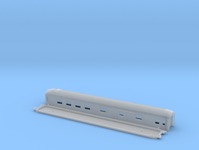 BFo4 - Swedish passenger wagon in Smooth Fine Detail Plastic