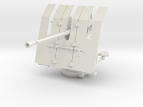 1/20 DKM 3.7cm Flak M42 Single Mount in White Natural Versatile Plastic