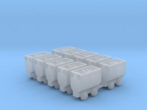 Kohlehunt / Erzhunt beladen 10erSet - TTf 1:120 in Smooth Fine Detail Plastic