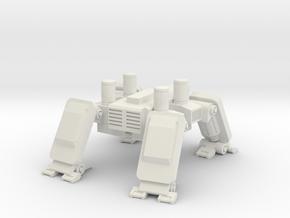 DRX Drone Bottom / Legs in White Natural Versatile Plastic