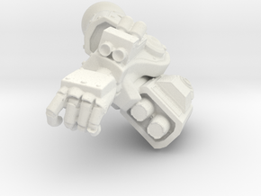 Fireborn Sunfury Carbine Arm in White Natural Versatile Plastic