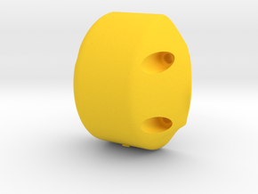 Front axle lid AR60 (Universal) - F60004 in Yellow Processed Versatile Plastic