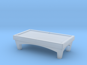 N Scale Pool Table in Smooth Fine Detail Plastic