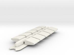 Freighter in White Natural Versatile Plastic