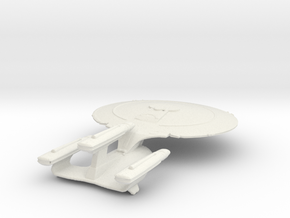 Galaxy Class Dreadnought Variant  in White Natural Versatile Plastic